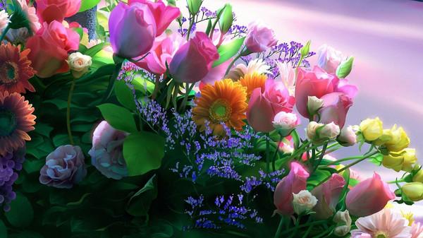 О цветах...